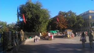 «Правый сектор» организовал благотворительную ярмарку в Одессе