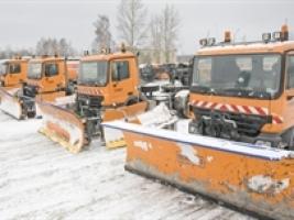 В Одессе можно будет контролировать уборку снега
