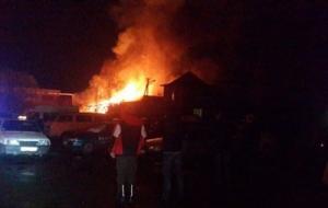 В Чернигове прогремел мощный взрыв в автопарке
