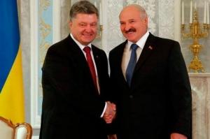 Порошенко и Лукашенко встретятся в воскресенье в Киеве