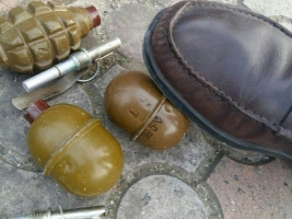 В Херсоне «на горячем» поймали торговца оружием