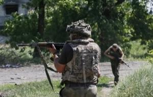 В Песках во время боя погиб украинский военный
