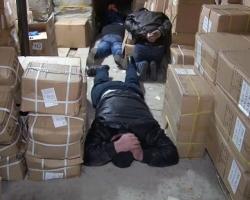На одесском рынке задержали воровскую группировку
