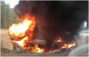 В Одессе взорвалась цистерна: милиция рассматривает версию теракта