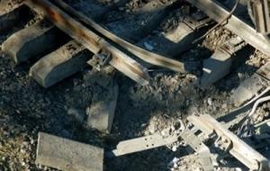 В Луганской области боевики подорвали железную дорогу