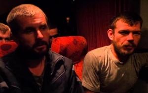 Обнародована видеозапись с освобожденными из плена бойцами