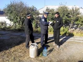На Снигиревщине выявили 8 точек продажи самодельной водки