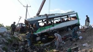 В Афганистане боевики подорвали автобус с полицейскими