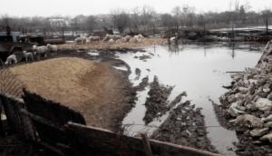 Аномальное поднятие грунтовых вод привело к обрушению домов в Одесской области