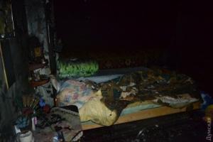 В центре Одессы пенсионер заживо сгорел в своей квартире