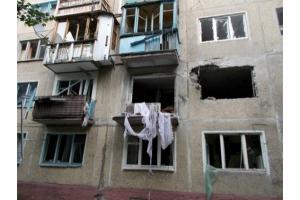 В результате постоянных обстрелов в Луганске за прошедшие сутки погибли пять мирных жителей, 15 граждан получили ранения