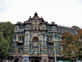 Одесские пожарные снова тушили Дом Руссова