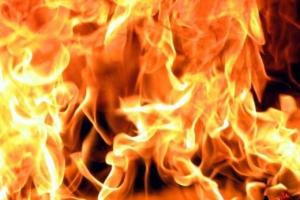 На полигоне Широкий Лан под Николаевом сгорели 12 палаток, 4 человека получили ожоги