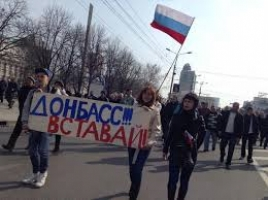 Боевики штурмуют часть внутренних войск в Донецке