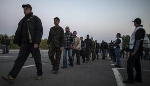 Из плена боевиков освободили десять человек