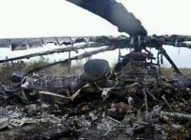 В сбитом вертолёте под Славянском были бойцы Нацгвардии и
