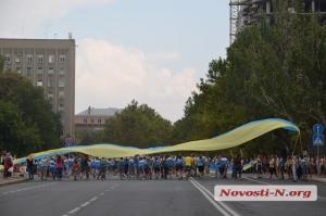 В Николаеве идет подготовка к празднованию Дня города - перекрыта ул. Адмиральская