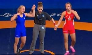 Украинка стала чемпионкой мира по вольной борьбе