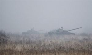 Боевики обстреляли из танков опорный пункт сил АТО в Широкино