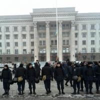 В Одессе встретились активисты Евромайдана и Куликово поля