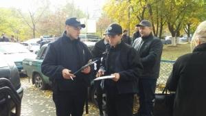 Дарт Вейдер спровоцировал скандал на избирательном участке в Одессе