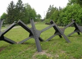 На границе Херсонщины и Крыма появятся дополнительные противотанковые укрепления