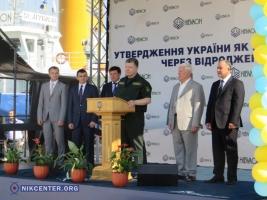 Президент Украины Петр Порошенко посетил «Нибулон»