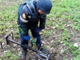 На полигоне Херсонщины пиротехники обезвредили 8 боеприпасов времен Великой Отечественной войны