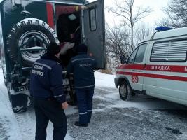 В Первомайском районе спасатели помогли медикам добраться к больному ребенку