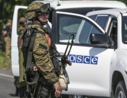 Киев хочет ввести на Донбасс 11-тысячную полицейскую миссию ОБСЕ, Москва - против