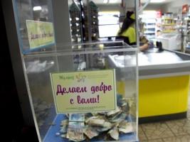 В Николаеве украли ящик с пожертвованиями больному ребенку