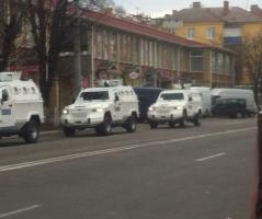 На улицы Киева вывели почти две тысячи правоохранителей и бронеавтомобили