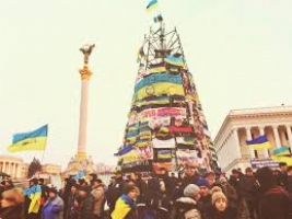 «Йолка» с «Евромайдана» будет храниться в музее Великой отечественной войны
