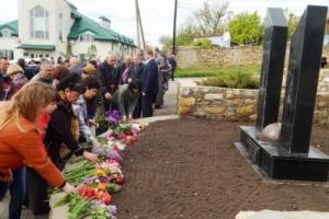 На Николаевщине установили памятный знак по случаю 30-летия Чернобыльской трагедии