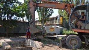 Одесскую Пересыпь спасают от потопов