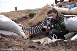 Ситуация в зоне АТО: обстрелы из крупнокалиберного оружия
