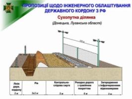Госпогранслужба: проект «Стена» реализуется в Черниговской, Сумской и Харьковской областях