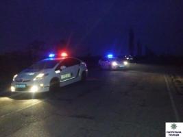 В Николаеве пьяный водитель пытался уйти от полиции