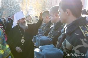 УПЦ создала институт военного духовенства
