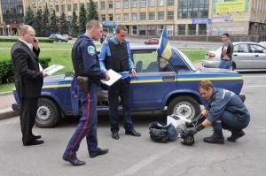 Николаевскому градоначальнику Юрию Гранатурову прислали собачью голову с гранатой