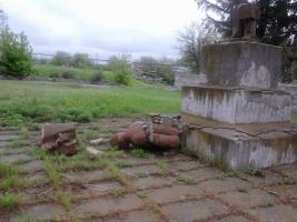 В Николаевской области снесли памятник Ленину