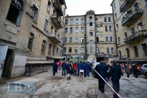 В Киеве обрушилось аварийное здание, есть погибшие