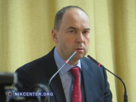 Первым замом главы Николаевского облсовета избрали Михаила Соколова (ФОТОРЕПОРТАЖ)