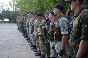 В зону АТО отправили очередной отряд николаевских правоохранителей