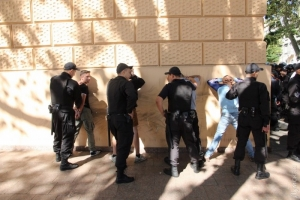 В Одессе полиция задержала четверых «ультрас», которые напали на «Марш равенства»