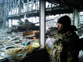 Из Донецкого аэропорта эвакуированы шесть раненых украинских военных