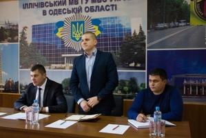 Полицейским из Одесской области представили нового руководителя