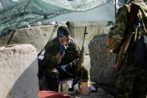 За сутки боевики 64 раза обстреляли позиции сил АТО