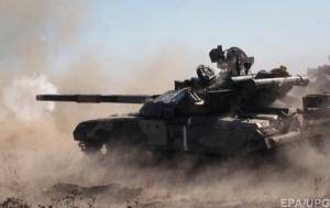Украинские военные попали в окружение террористов под Дебальцево
