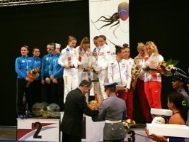 Николаевская спортсменка Ольга Харлан в составе украинской сборной завоевала командное серебро на этапе Кубка мира по фехтованию